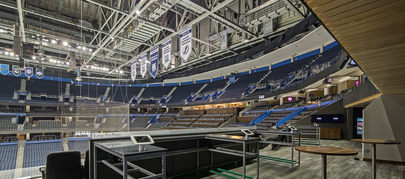 Amalie Arena Renovations